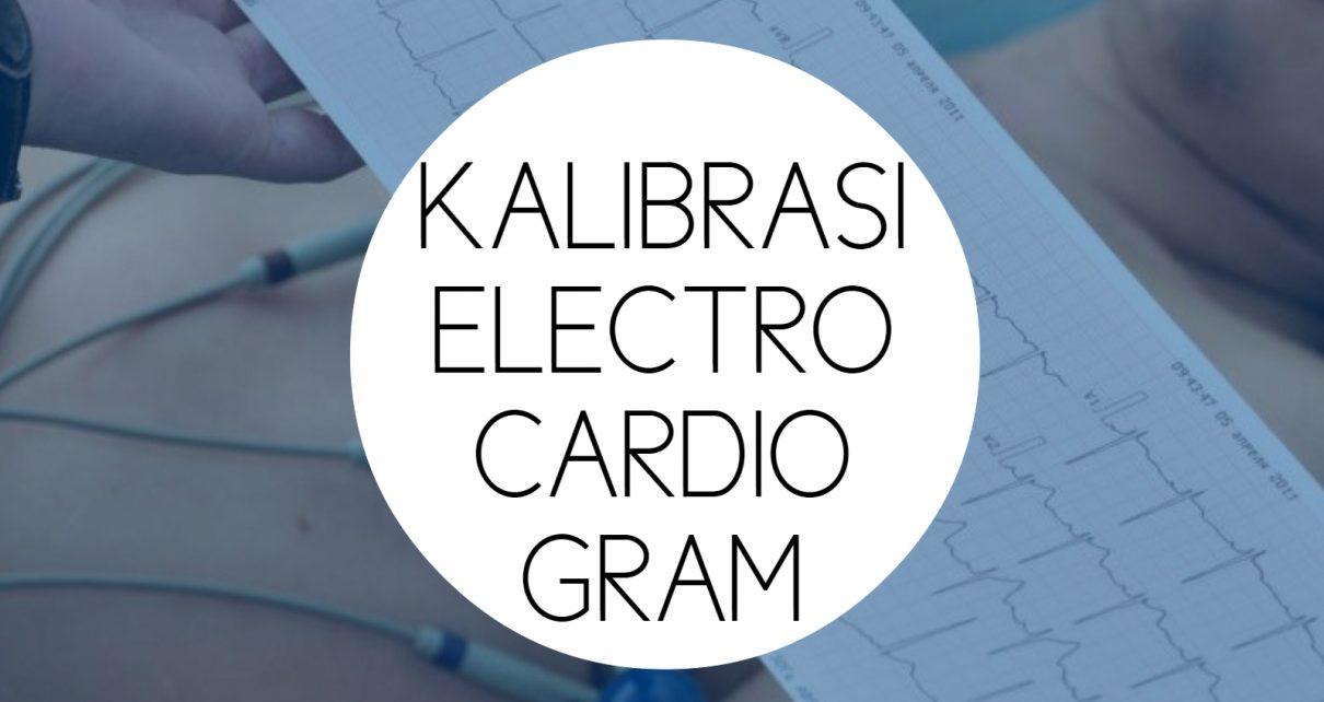 Training Kalibrasi Electrocardiogram