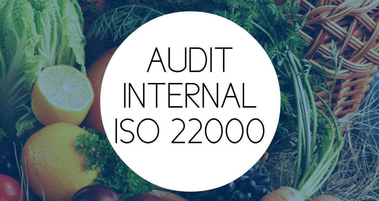 AUDIT INTERNAL ISO 22000