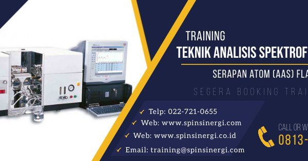 Training Teknik Analisis Spektrofotometri Serapan Atom