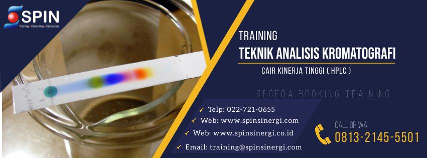 Training Teknik Analisis Kromatografi HPLC